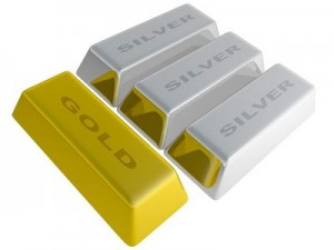 silver gold