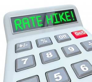 Rate Hike Calculator Words Increased Interest Cost Borrow Money