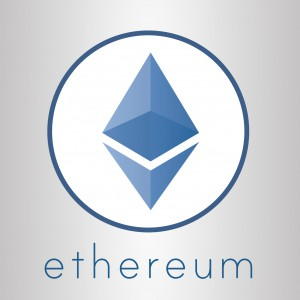 Ethereum cripto currency vector logo